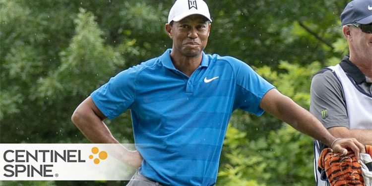 The Restrains of Tiger Woods Lower Back Pain